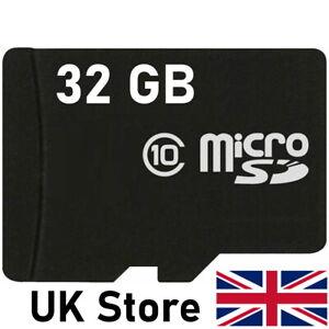 8GB or 32GB - Micro SD Card - SDHC SDXC Dash Cam Memory Card TF Class 10