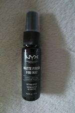 NYX Professional Makeup Matte Finish Fini Mat Setting Spray Long Lasting New