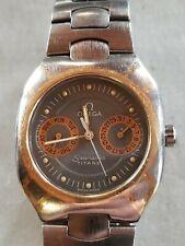 Omega Seamaster Polaris Titane 120M 34mm watch gray Gold 0003 day date  running