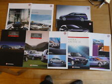 VAUXHALL ASTRA SPECIAL EDITIONS & SPECIFIC MODEL CAR BROCHURES - GROUP OF 9 jm