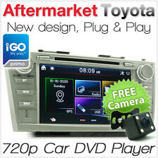 Car DVD GPS Player Stereo Radio For Toyota Aurion ATX Sportivo SX6 ZR6 Touring T