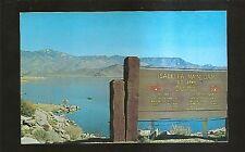 Vtg 1950's Chrome Postcard LAKE ISABELLA, California