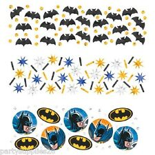 BATMAN PARTY SUPPLIES TABLE CONFETTI VALUE PACK OF 34g
