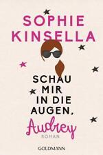 Schau mir in die Augen, Audrey von Sophie Kinsella (Klappenbroschur), UNGELESEN