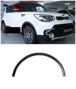 For Kia Soul 2017- Fender Flares Wheel Arch Guards Abs Plastic