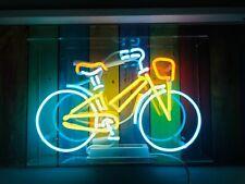 "New Bike Bicycle Neon Sign Acrylic 14""x10"" Light Lamp Artwork Handmade Handing"