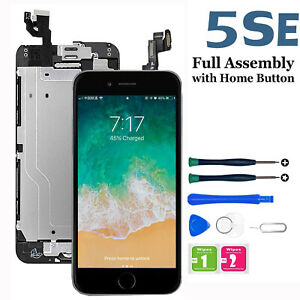 For iPhone 5SE LCD Touch Digitizer Display Screen Replacement Full Assembly Part