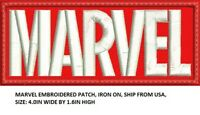 **LOVE IT OR ITS FREE** MARVEL CUSTOM EMBROIDERED PATCH, IRON ON / SEW ON, SHIP