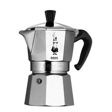 Bialetti Mukka 2 Cups Coffee Maker - Black/White Made in Italy