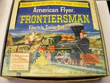 American Flyer Frontiersman Franklin Passenger Set in Original Box [Lot 10-S33]