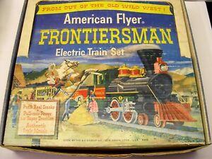 American Flyer Frontiersman Franklin Passenger Set in Original Box [Lot 10-S33]
