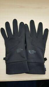 North Face Apex+ ETIP Gloves Black - Size Large