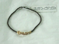 Island Brown Expandable Dream Bracelet By Harry Haslett NEW WITH TAG