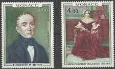 Timbres Arts Tableaux Monaco 1172/3 ** lot 23044