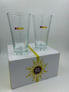 NESCAFE DOLCE GUSTO 275ml COLD DRINKS ICED TEA GLASSES SET OF 2