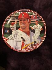 Mark McGuire Baseball Collector Plate Record Tying 61St Home Run - Home Run Hero