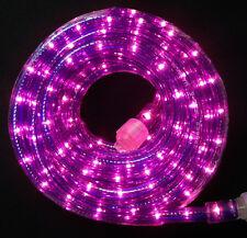 "Flexilight® 10x 24Ft Purple Rope Light 110V 120V 2-Wire 1/2"" Incandescent Bulbs"