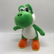 "New Super Mario Bros. Plush Apple Yoshi Soft Toy Stuffed Animal Doll 14"" SO BIG"