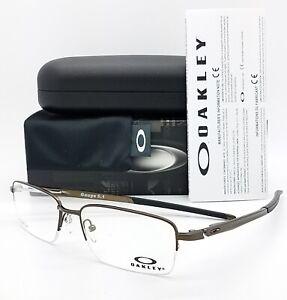 NEW Oakley Gauge 5.1 Rx Frame Pewter OX5125-0254 Dark Grey 5125 Titanium 54mm