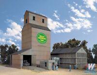 Walthers HO Valley Growers Association Steel Grain Elevator Kit 933-3096
