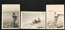 George Barris, Marilyn Monroe triptych set, Ltd. Ed. photographs, hand signed