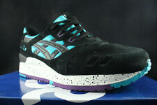 ASICS GEL LYTE III 3 PEACOCK BLUE BLACK H642L 4390 SZ 10