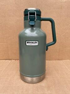 Stanley Thermos Bottle Vacuum Growler 64oz, 2 QT. New