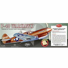 Guillow - GUI405LC - P-40 Warhawk Balsa Kit - 1:16 Scale