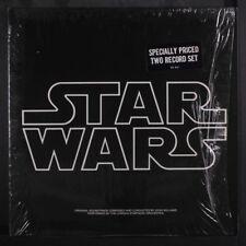 SOUNDTRACK: Star Wars LP (2 LPs, w/ insert & poster, shrink) Soundtrack & Cast