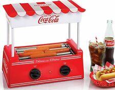 Hot Dog Roller Bun Warmer Adjustable Nostalgia Heat Machine Cooker Grill Retro