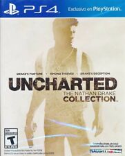 Uncharted The Nathan Drake Collection PS4 Game Physical Game Disc - New & Sealed