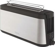 Tefal Langschlitz-Toaster TL4308 Edelstahl-Schwarz NEU & OVP