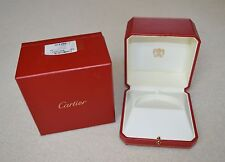 Cartier Trinity Vintage Jewelry Watch Box  B6013301 Old Cartier Logo