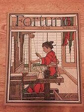 Vintage Fortune Magazine , JULY 1933