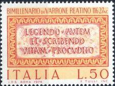 1974 italia repubblica Marco Terenzio Varrone MNH