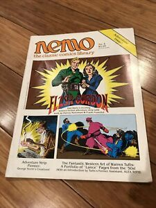 NEMO: THE CLASSIC COMICS LIBRARY #4 ~ FN 1983 FANTAGRAPHICS BOOKS ~ FLASH GORDON