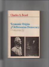 ECONOMIC ORIGINS OF JEFFERSONIAN DEMOCRACY BEARD 1965 1ST ED PB US AMERICAN