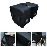 Mountain Bike Twin Rear Rack Bag Bicycle Carrier Luggage Pannier Bag Waterproof