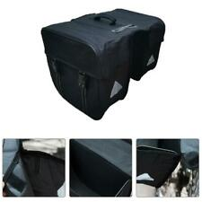 Mountain Bike Twin Rear Rack Bag Bicycle Carrier Luggage Pannier Bag Waterproof