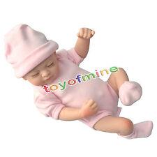 """Renacido hecho a mano 11 """"muñeca realista y corriente Mirando Bebé recién nacido"""