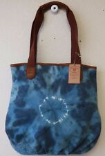 Lucky Brand Tie Dye Small Trippin Out Tote HKRU1144 BLUE NWT