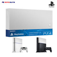 Ps4 Sony Genuine Playstation 4 Silver Faceplate HDD Case Top Cover
