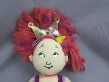 BIG PINK PURPLE HAIR PRINCESS CROWN GLASSES LEOTARD FLUFFY SHOES PLUSH DOLL GIRL