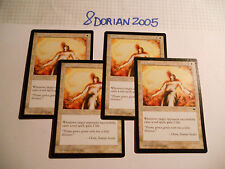 4x MTG Tepore-Warmth Magic EDH TEM Tempest ITA Italiano Legacy Commander x4