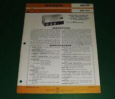 Original Bogen Model Mta10 Manual