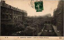 CPA PARIS 20e Hopital Tenon - Jardin des Malades (254562)