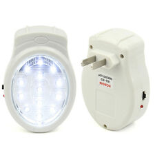 Emergency Automatic Power Failure Outage Rechargeable 13 LED Light lamp Plug In