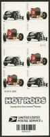 Hot Rod Stamps Booklet of 20 Forever Stamps Scott 4909d