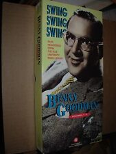 BENNY GOODMAN swing volume 1 ~ 5 ( jazz ) cd box - booklet -