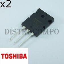 2SC5200 Toshiba Transistor NPN TOP3 230V 15A Toshiba (lot de 2)